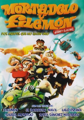 Imagen 1 de 3 de Mortadelo Y Filemon Contra Jimmy El Locuaz Pelicula Dvd