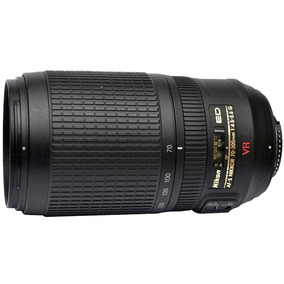 Objetiva Nikon Ed Af-s Nikkor 70-300mm F/4.5-5.6 G Vr-usada
