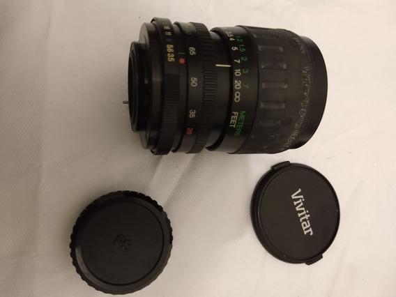 Objetiva / Lente 28-80 Zoom - Vivitar Para Cameras Com Rosca