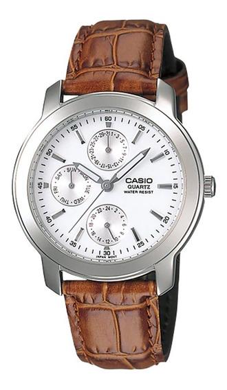 Reloj Casio Hombre Mtp-1192e-7a, Casual, Dial Con Fecha