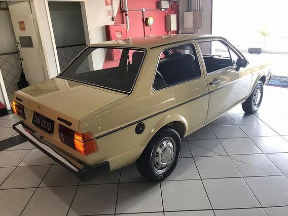 Volkswagen Voyage 1.5 Ls 8v Placa Preta Colecao 1982