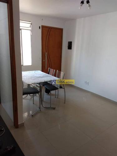 Apartamento Com 2 Dormitórios À Venda, 44 M² Por R$ 210.000 - Jardim Das Acácias - São Bernardo Do Campo/sp - Ap1899