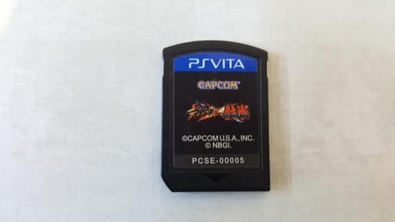 Street Fighter Vs Tekken - Ps Vita - Original - Sem Capa