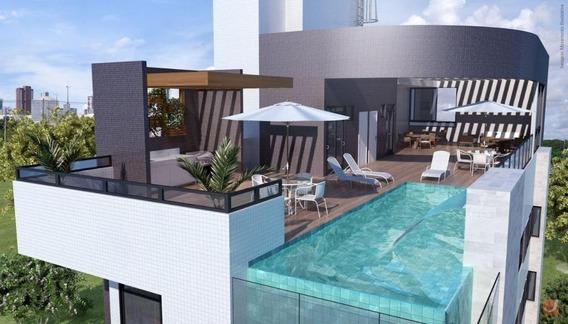 Apartamento Em Intermares, Cabedelo/pb De 36m² 1 Quartos À Venda Por R$ 165.000,00 - Ap210944