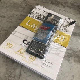 Kit Papel Canson + Lápis De Desenho + Borracha + Apontador