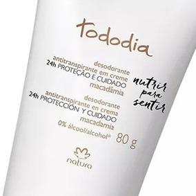 Desodorante Em Creme Tododia 10 Un S/perfume E Macadamia