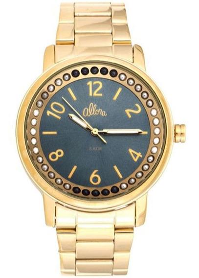 Relógio Feminino Allora Al2035fia/4a Barato Original