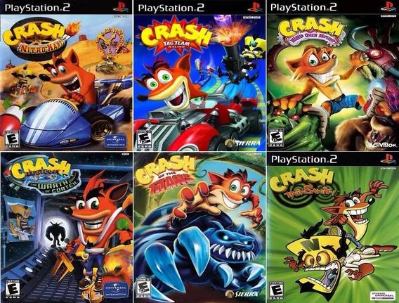 Crash Bandicoot (6 Jogos) Ps2 Dvd Patch Promoção