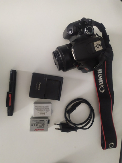 Canon T3i Corpo + Lente 50mm + Acessorios