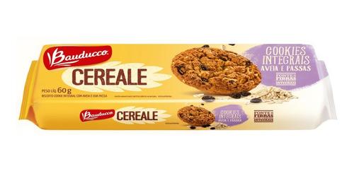 Cookies Cereale Aveia E Uva Passa Bauducco 60g
