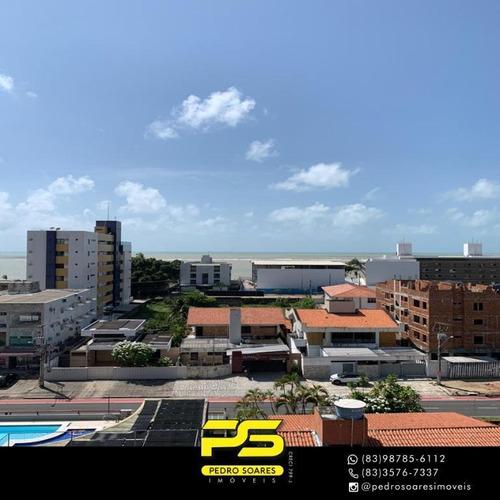 Apartamento Com 3 Dormitórios À Venda, 107 M² Por R$ 650.000 - Jardim Oceania - João Pessoa/pb - Ap3706