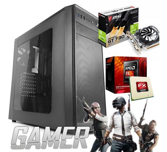 Computador Gamer Amd Fx-6300 ; Hd 500 ; Mem 4gb ; Gt 730 2gb