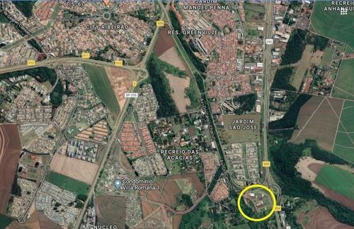 Terreno Comercial No Centro Empresarial Celso Charuri Nas Margens Da Rod. Anhanguera, Com 856 M2, Medindo 21 X 40 M - Te00418 - 67802435