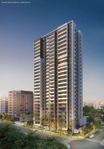 Apartamento Para Venda Em São Paulo, Campo Belo, 3 Dormitórios, 3 Suítes, 5 Banheiros, 2 Vagas - Cap3461_1-1647424