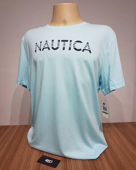 Camiseta Nautica Clássica Azul Bebê