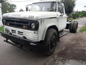 Camion Dodge 69 Excelente Estado Con Caja Hidraulica