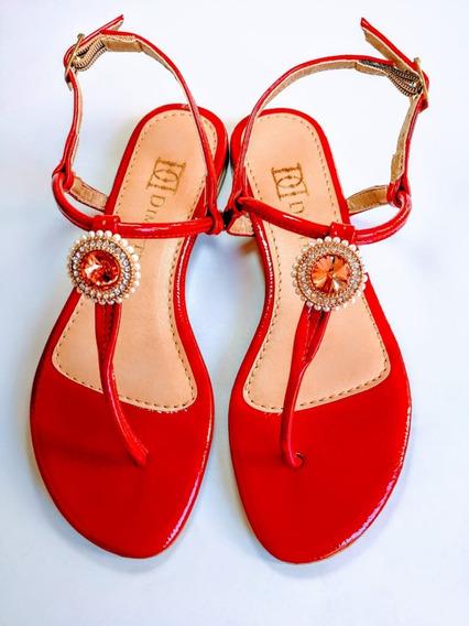 Calçados Femininos Sandália Rasteirinha