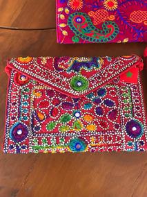 1e0411d94 Bolsa Feminina Artesanal Branca Bordado Tecido - Bolsas Femininas no ...
