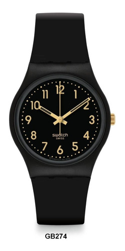Relógio Swatch Gb274 - Golden Tac