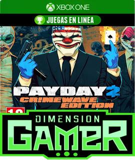 Payday 2 Crimewave Edition - Xbox One - N Codigo