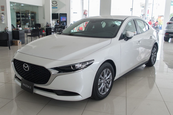 Mazda 3 Prime At 2.0 2021 Blanco Nieve 4p