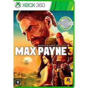 Max Payne 3 - Xbox 360 Físico Novo E Lacrado