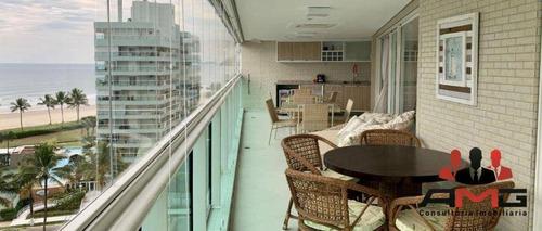Apartamento Com 4 Dormitórios À Venda, 185 M² Por R$ 3.500.000,00 - Riviera - Módulo 8 - Bertioga/sp - Ap2708