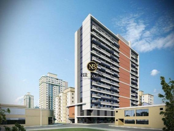 Sala À Venda, 28 M² Por R$ 119.300 - Centro - Curitiba/pr - Sa0025