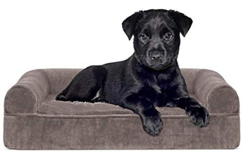 Imagen 1 de 5 de Furhaven Pet - Sofa Ortopedico Estilo Sofa Cama Para Perr