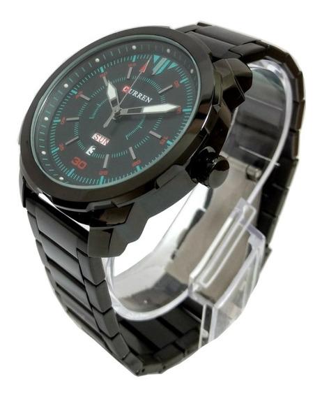 Relógio Tamanho Médio Lindo Presente Importado Aço Inoxidáve
