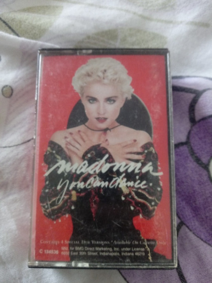 Fita K7 Madonna You Can Danci