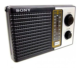 Radio Sony Icf-f10 Am Fm Portatil Usa 2 Pilas D Grandes