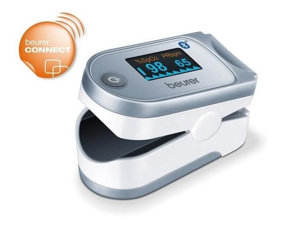 Oxímetro Médico Pulso Bluetooth Práctico Y Ligero Beurer