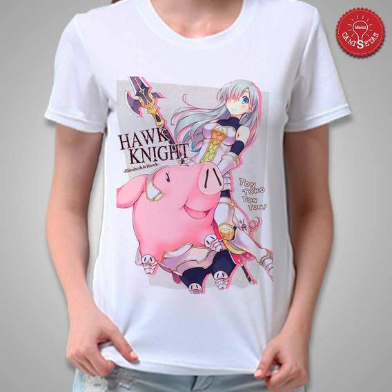 Camiseta Elisabeth E Hawk Nanatsu No Tazai