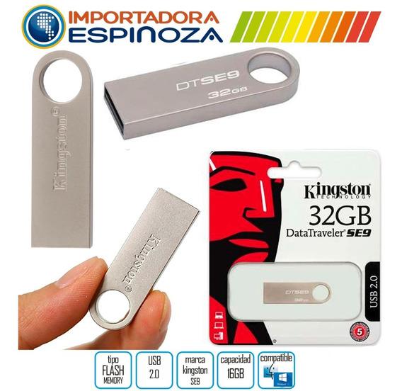 Flash Memory Memoria Pen Drive Kingston 32 Gb Usb