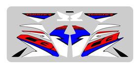 Adesivos Emblema Cb 250 Twister 2019 Personalizada