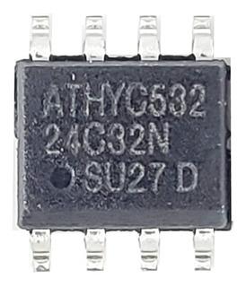 Memoria Eeprom 32 Kbit 24c32 Ecu Smd Tableros En Blister