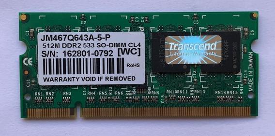 Memoria Ddr2 Jm467q643a - Transcend-