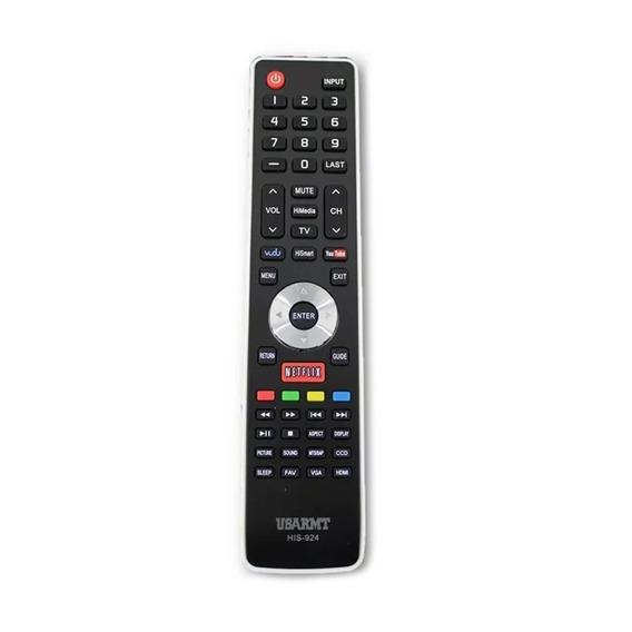 Control Pantalla Tv Hisense Smart Netflix Youtube Pilas /e