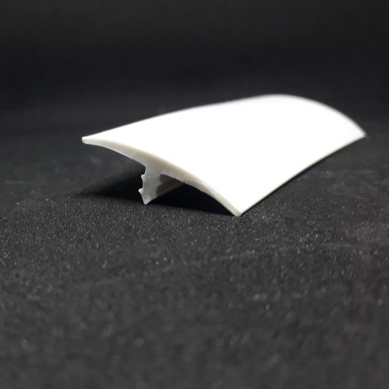 Perfil T Pvc Sem Aba 100mt. 25mm Branco/ Preto/ Marrom Café