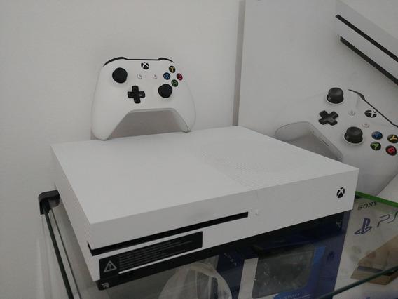 Console Xbox One S 4k 1tb Branco Original + Controle