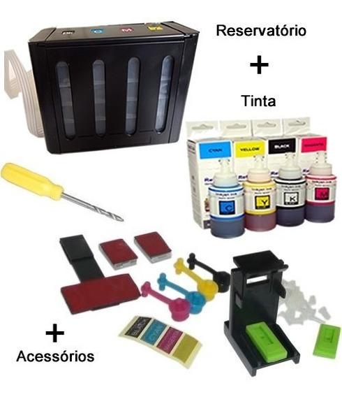 Bulk Ink Hp 5525/4646/4729 + Reservatorio + Tinta