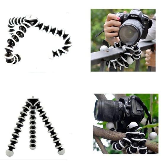 Tripé Articulado Gorilapod Dslr Flexível Dobrável Grande 3kg