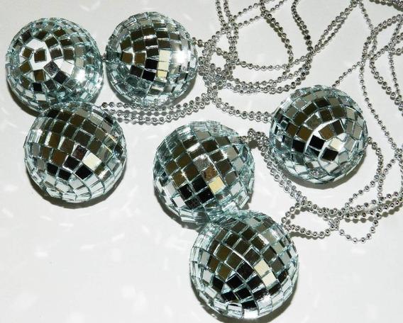 Collar Disco Ball Mediano Fiesta Batucada