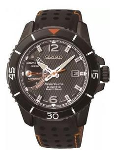 Reloj Seiko Srg021 Sportura Kinetic Direct Drive Calendario
