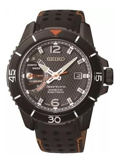 Reloj Seiko Kinetic Direct Drive Srg021 Original Calendario