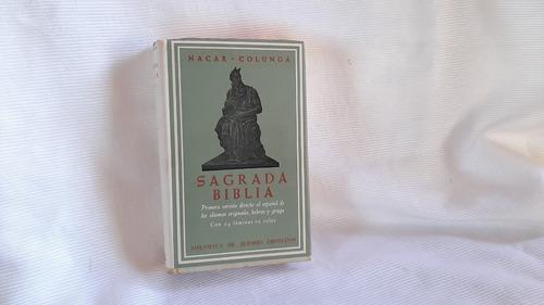 Sagrada Biblia Nacar Fuster / Colunga Bibl Autores Crist