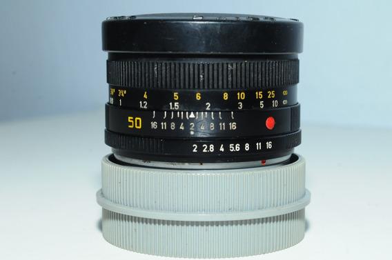 Lente Leitz R Summicron 50mm F 2 Leica