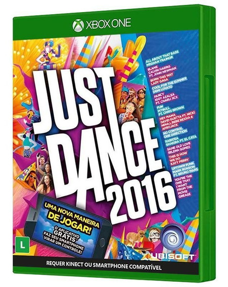 Just Dance 2016 - Xbox One - Mídia Física E Lacrada