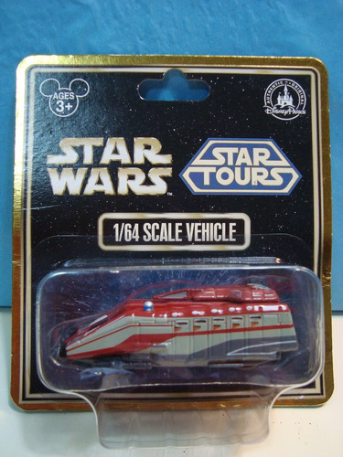 Star Wars Nave Star Tours Metal Blister Cerrado Esc 1/64